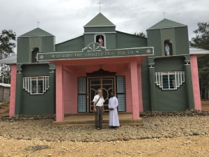 New Church blessed by Bishop Donald on 4 August 2017