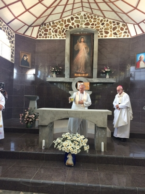Divine Mercy Shrine Dedicated by Nuncio