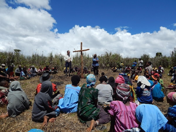 Sharing the Joy of the Gospel in the deep bush