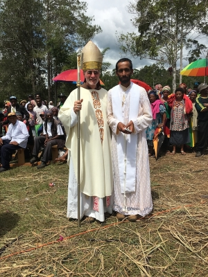 New Priest for Pangia