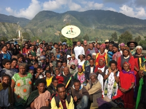 First Jubilee Pilgrims arrive at Mendi