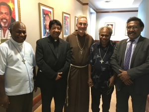 New Nuncio for PNG-SI