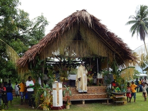Father Elias - First Holy Mass in his village