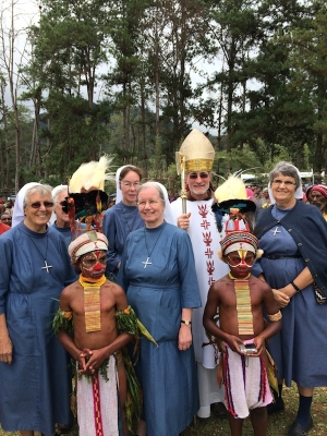Mother General Visits Swiss Sisters