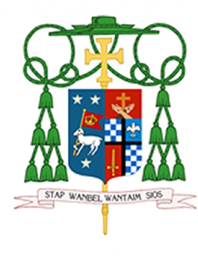 Bishop Donald's Coat of Arms